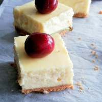 Cheesecake Bars Recipe