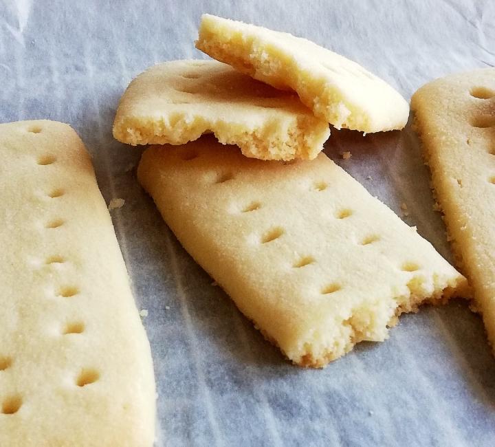 shortbread cookies inside