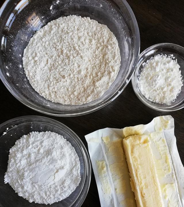shortbread cookies ingredients